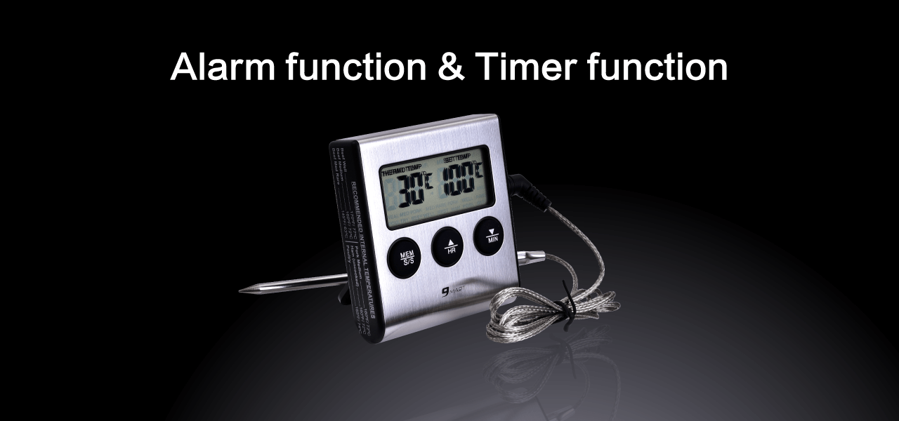 9Mart Digital cooking timer & thermometer